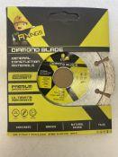50 x Mr Fixings 115mm x 10mm x 22mm Diamond Saw Blades