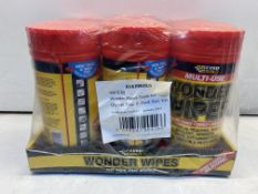 6 X Everbuild Wonder Wipes, 100 Per Pack