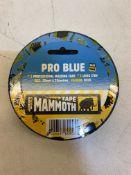 47 x Everbuild Blue Masking Tape, 25mm x 33M