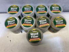 9 x Various Everbuild Wood Filler
