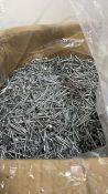 Box of nails   40mm   Galvanised