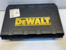 DeWalt DCH363 Cordless Hammer Drill Carry Case ONLY   **DRILL NOT INCLUDED**