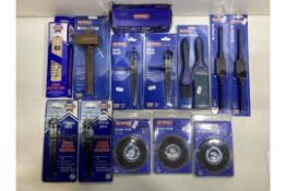 Mixed Lot Of Various Faithfull Tools & Accessories