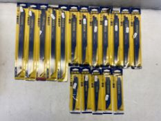 17 x Packs Of Various Irwin Saw Blades