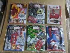 100 x Brand New & Sealed Various DC Comics/Drawing Books | RRP £4.99 each | ZERO VAT