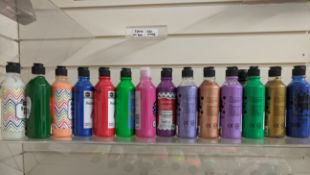 300 x Bottles of Brand New Poster Paints | Various Brands and Colours