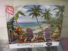 100 x Brand New 1000 pc Jigsaw w/ Guide and Poster | RRP £9.99 each