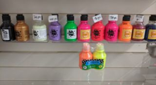 500 x Bottles of Brand New & Sealed Poster Paints | Various Colours