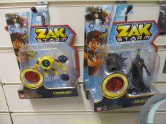 100 x Brand New ZakStorm Figures