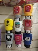100 x Bottles of Brand New Acrylic Paints | Various Brands and Colours