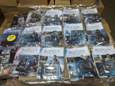 500 x Brand New & Sealed Assasins Creed Magazine and Figure Combo Pack | RRP £9.99 each