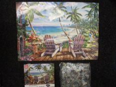 50 x Brand New 1000 pc Jigsaw w/ Guide and Poster | RRP £9.99 each