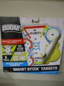 250 x Brand New BoomCo Smart Stick Targets | 2 Designs
