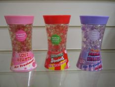 100 x Brand New Swizzels Gel Bead Air Fresheners | Assorted Flavours