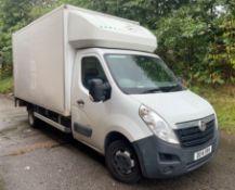 Vauxhall Movano R3500 L4H1 CDTI Box Van w/ Tail Lift | Reg: DE14 XRV