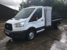 Ford Transit 350 Twin Wheel Base Tipper | NV65 OUM | 109,894 miles