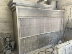 Spray Booth | Size: 330cm x 220cm x 110cm
