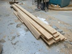 10 x Various Pieces of Timber Stock | Sizes Range from 160cm - 460cm