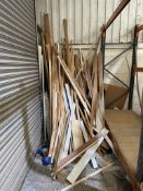 Quantity of Spare/Off-Cut Timber as per pictures