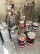 Large Quantity of Unused/Used Paint Stock as per pictures