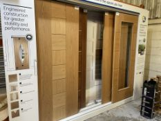 5 x Various Ex-Display Internal Doors on Stand | Please see Pictures