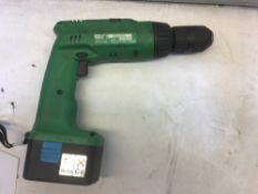 Hitachi DV14 DVA Hammer Drill W/ 14.4v Li-Ion Battery