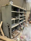 3 x 4 & 5 Tier Metal Storage Cabinets/ Contents