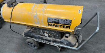 Master BV170E Diesel Space Heater
