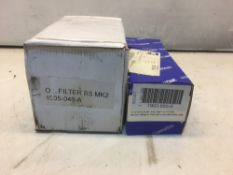 2 x Oil Filter Kits As Listed
