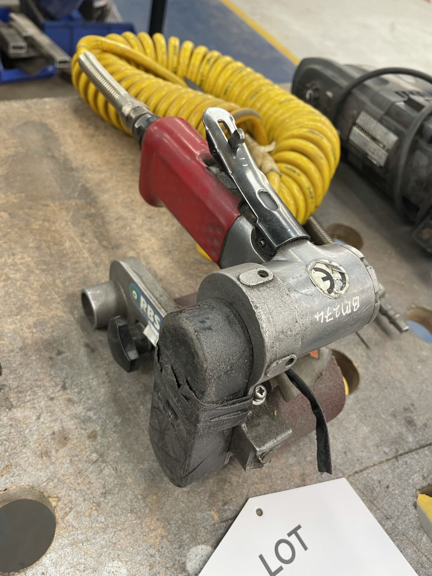 Pneumatic Roller Belt Sander - Image 2 of 4