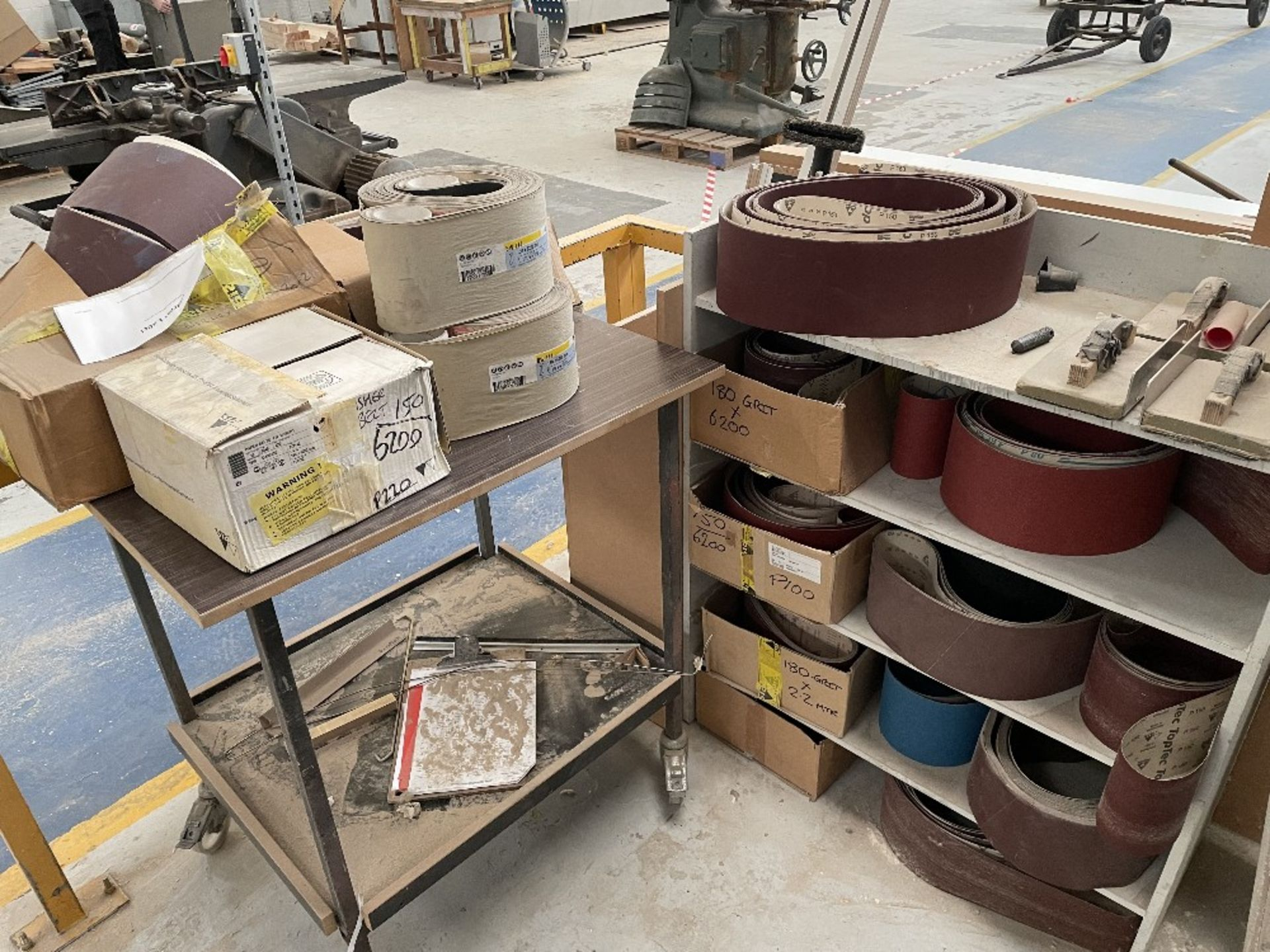 Felder FS 2200 Belt Sander w/ Spare Sanding Belts & Pads - Image 11 of 13