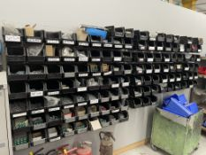 Quantity of Tote Part Bins w/ Fixings Stock   As Pictured