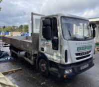 Iveco 7.5T Eurocargo Dropside Lorry   BF63 ZPL   Mileage: 244,000