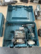 Makita DHP456 Combi Drill w/ Battery Charger in Case