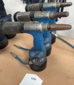 3 x Avdel Genesis G2 Pneumatic Riveters