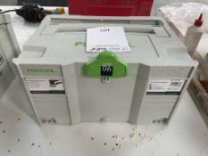 Festool ETS 150/3-EQ Plus Random Obit Sander in Case