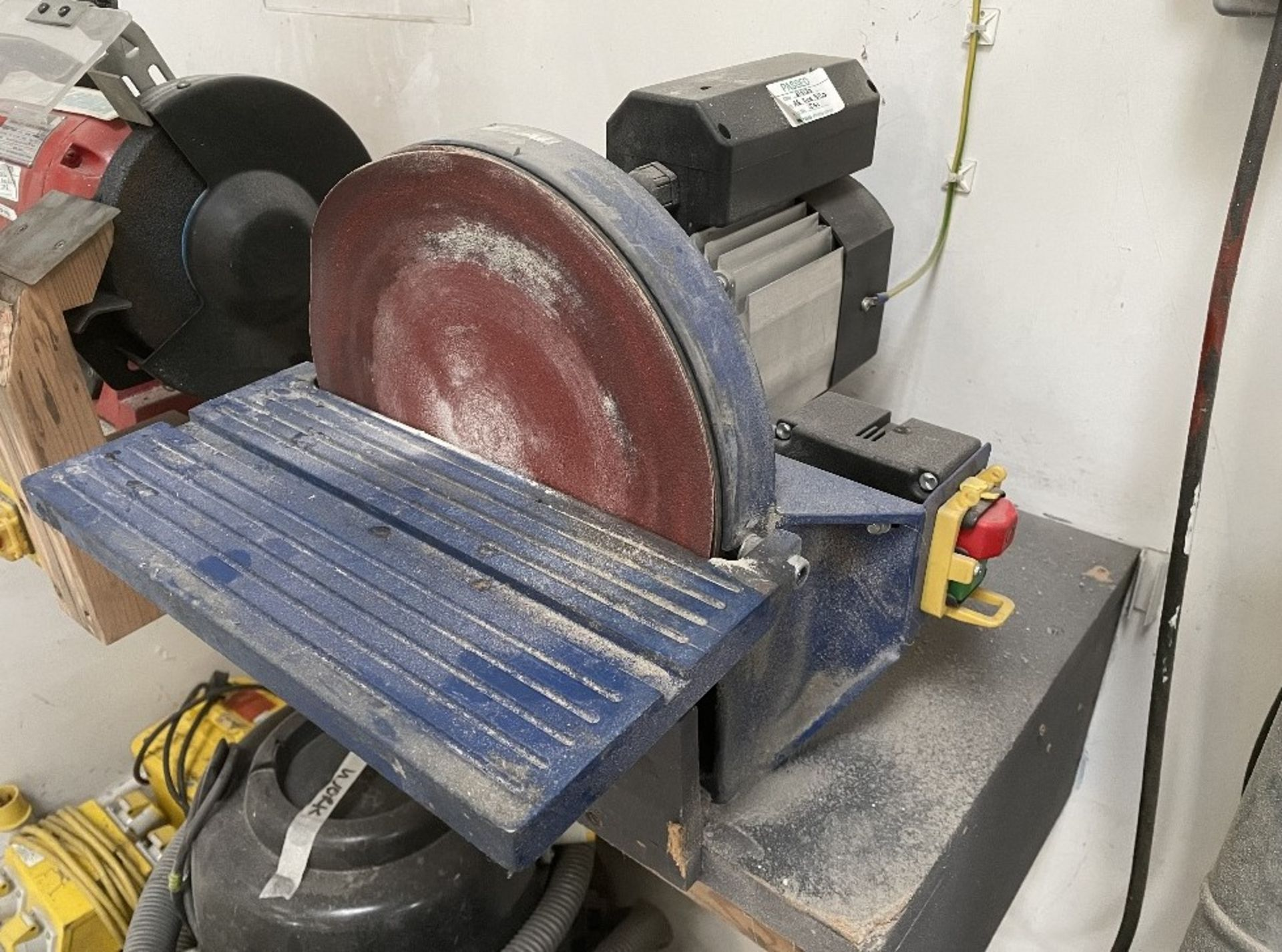 Bench Disc Sander 250mm w/ Spare Sanding Discs