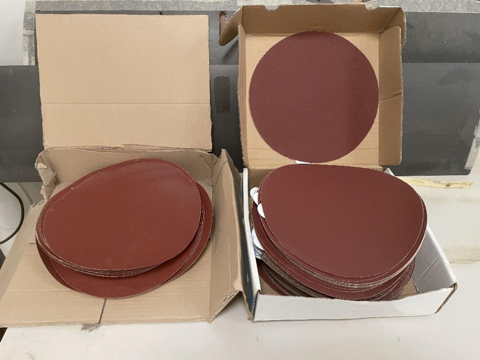 Bench Disc Sander 250mm w/ Spare Sanding Discs - Image 3 of 4