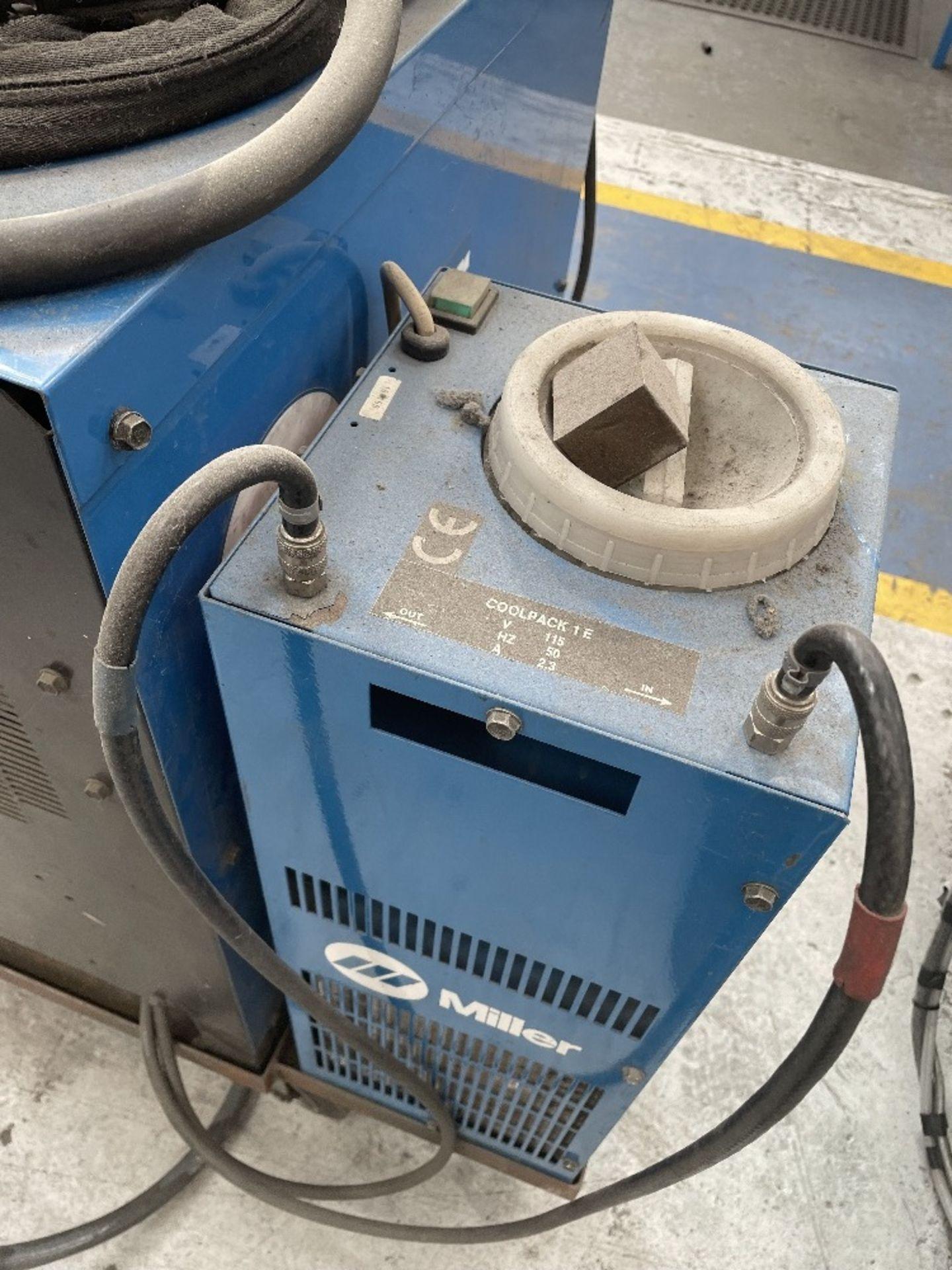Miller Syncrowave 250 Tig Welder w/ Miller Water Cooler - Image 4 of 4