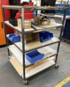 5 Tier Mobile Trolley