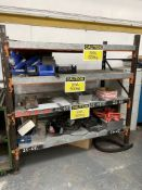 4 Tier Shelving w/ Contents