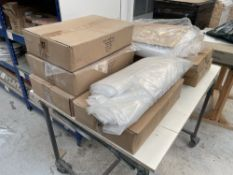 Quantity of Various Heavy Duty Clear Bags