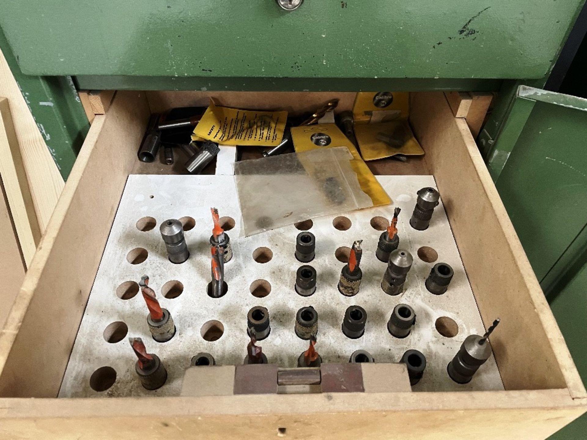 Maggi 3532 4 Head Boring Machine w/ Tool Cabinet & Tooling | YOM: 1999 - Image 10 of 12