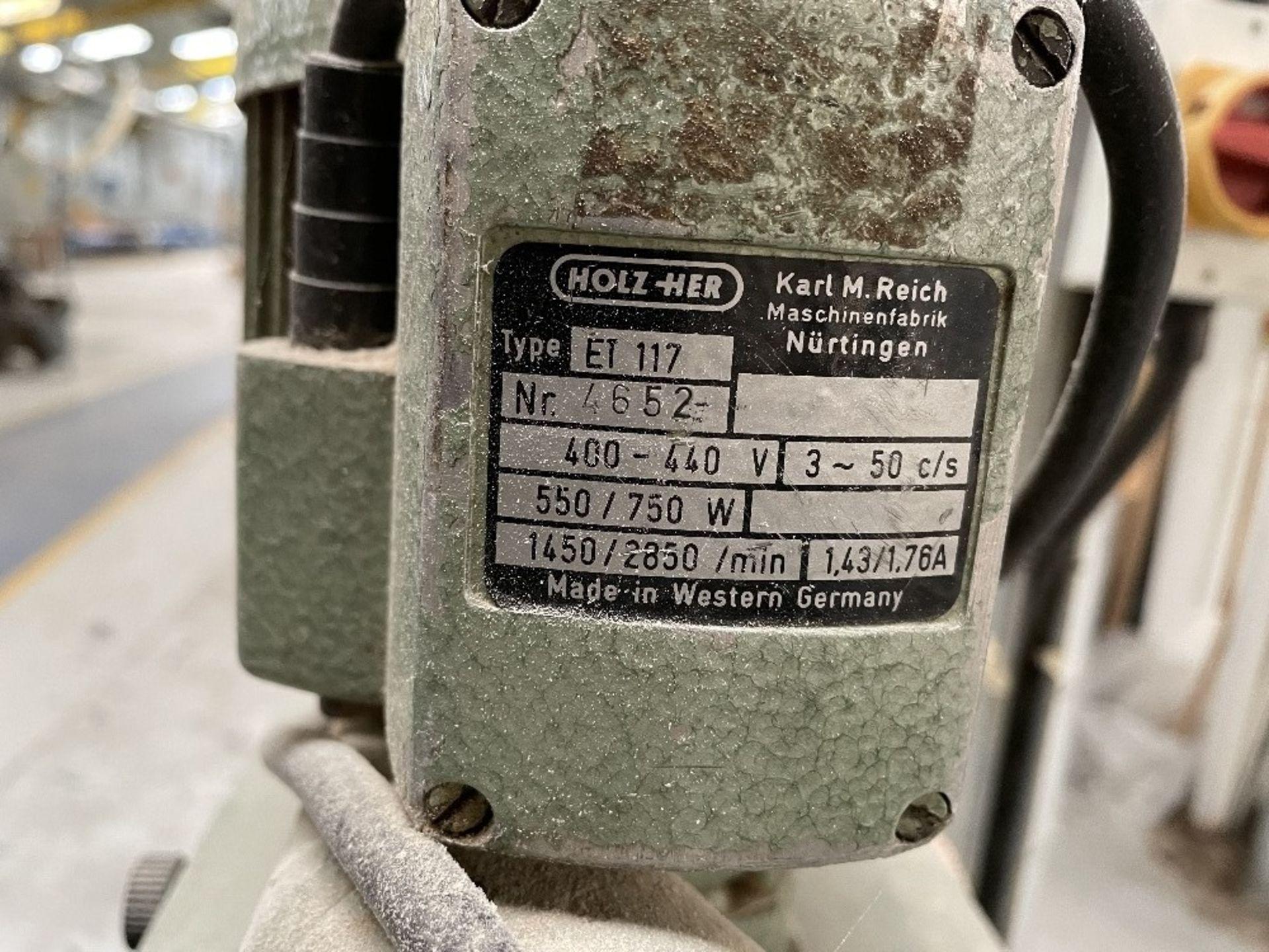 Felder FS 900KF Edge Sander w/ Holz-her Power Feed   YOM: 2002 - Image 8 of 8