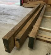 3 x Planks of Hardwood - Believed to be Amercian Ash | Sizes in Description
