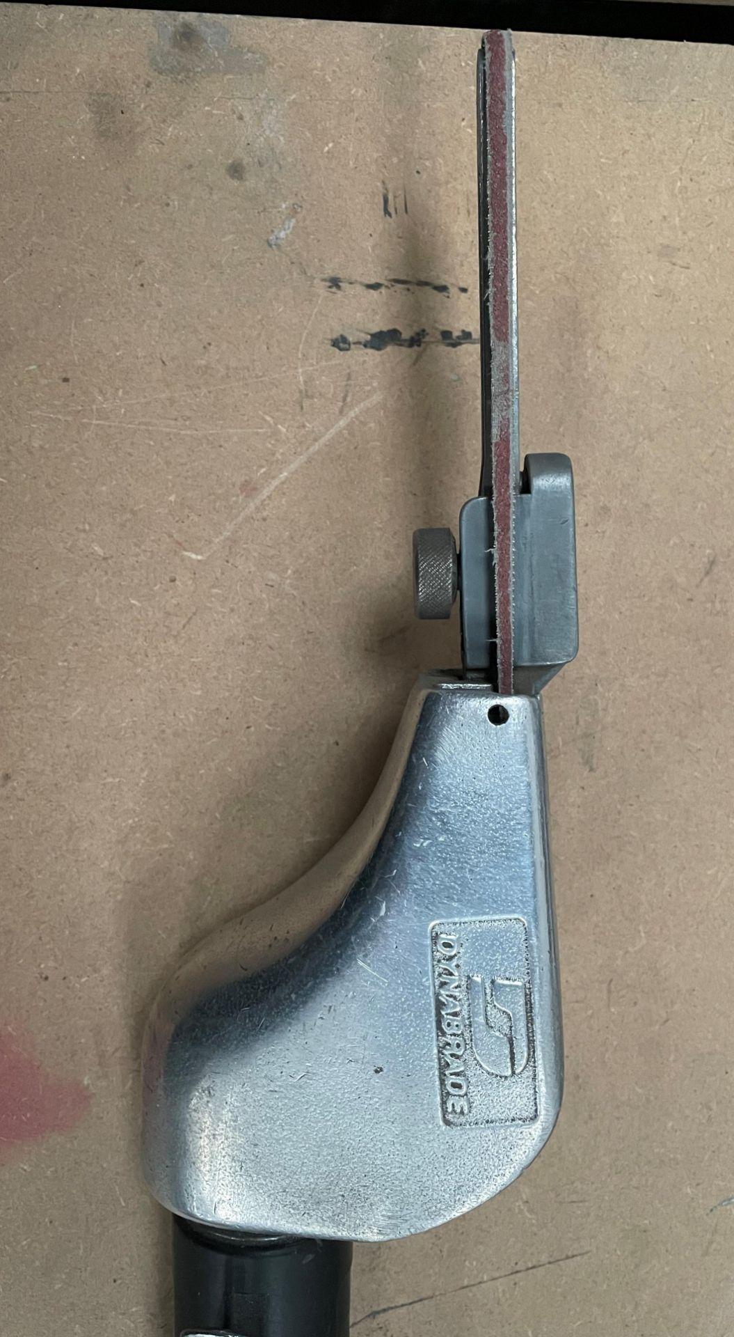 Dynabrade Dynafile Pneumatic Abrasive Belt Sander - Image 2 of 3