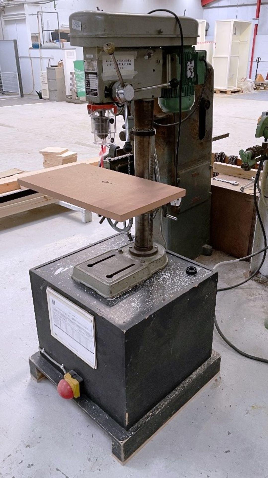 Pinnacle PD16 16mm Pedestal drill   YOM: 1983 - Image 2 of 5