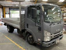 Isuzu Grafter N35.125 LWB Dropside Lorry   YX69 MLJ   Mileage: 98,641