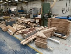 Large Quantity of Wood Stock & Off Cuts - As Pictured