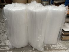 5 x Unopened Rolls of Small Bubble Wrap | 1200mm x 100m